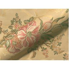 Charlottenburg Klasszikus virágmintás hímzett bútorszövet
