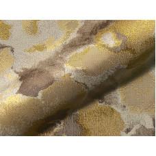 Flower virágos bútorszövet -arany-