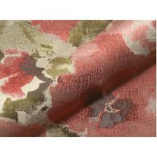 Flower virágos bútorszövet -mályva,piros,lila-