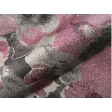 Flower virágos bútorszövet -pink-