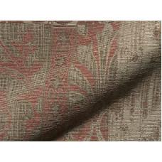 Used Vintage patchwork hatású rusztikus anyag -szürke,téglavörös-